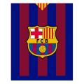 FCバルセロナ フリースブランケット ST