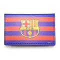 FCバルセロナ PU カードホルダー (ストライプ)