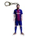 FCバルセロナ 選手型アクリルキーホルダー #10 MESSI