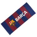 FCバルセロナ フェイスタオル (ストライプ)