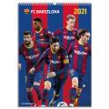 FCバルセロナ 2021年 オフィシャル壁掛けカレンダー