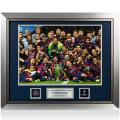 FCバルセロナ UEFA チャンピオンズリーグ オフィシャル額入りフォト:2015 Winners