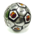 FCバルセロナ 1号球 サインプリント (シルバー)