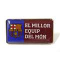 FCバルセロナ ピンバッジ (EL MILLOR EQUIP DEL MON)