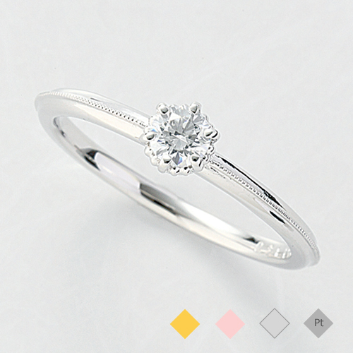 フェザージ「エンゲージリング婚約指輪」