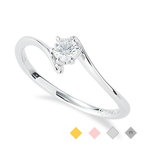 キャリー「エンゲージリング婚約指輪」