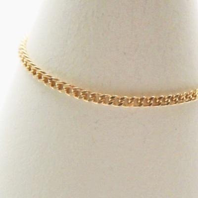 【送料無料】 K18 Duperey kihei chain ring (デュプレー 喜平 チェーン リング)