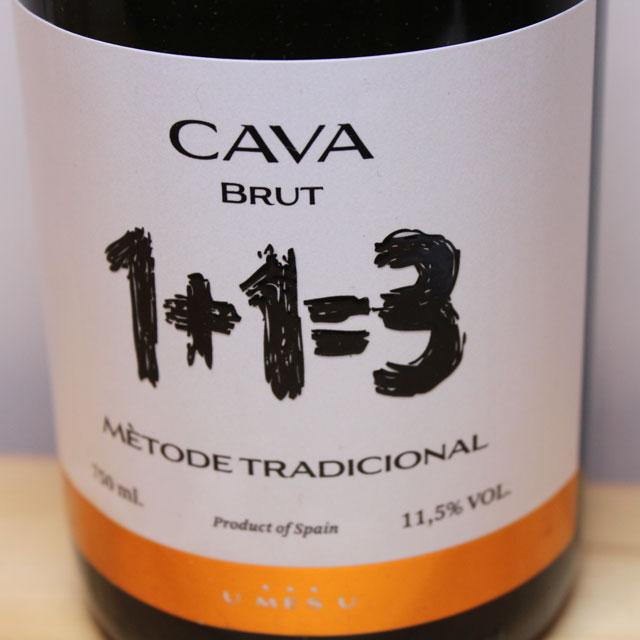 1+1=3(ウ・メス・ウ・ファン・トレス) カヴァ ブルット