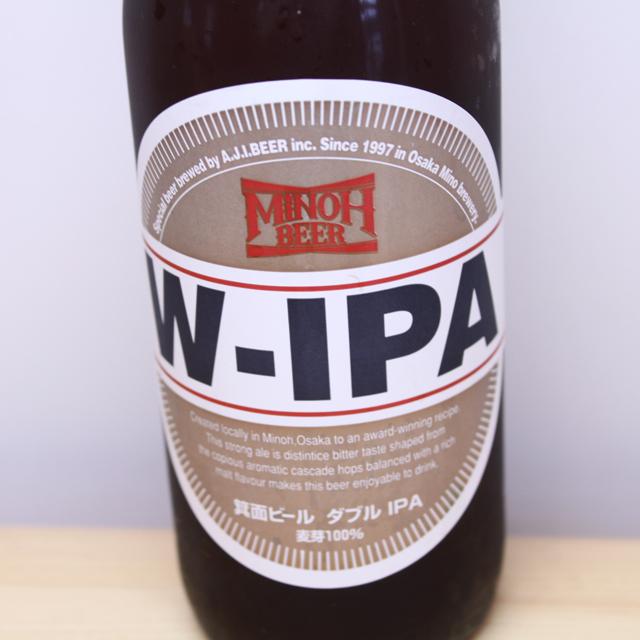 箕面ビール MINOH BEER W-IPA