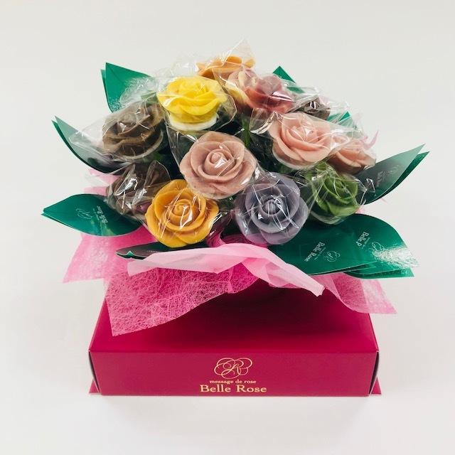 【特注】バラのショコラブーケ・20本(BOXあり)