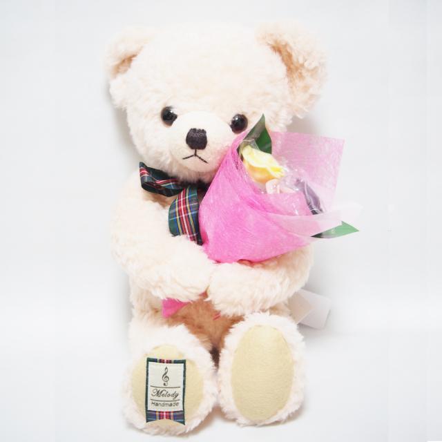 ベルローズベア【メロディ・ピンク】・3本