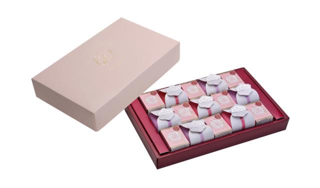 バラのチョコレートセット&ティーセット
