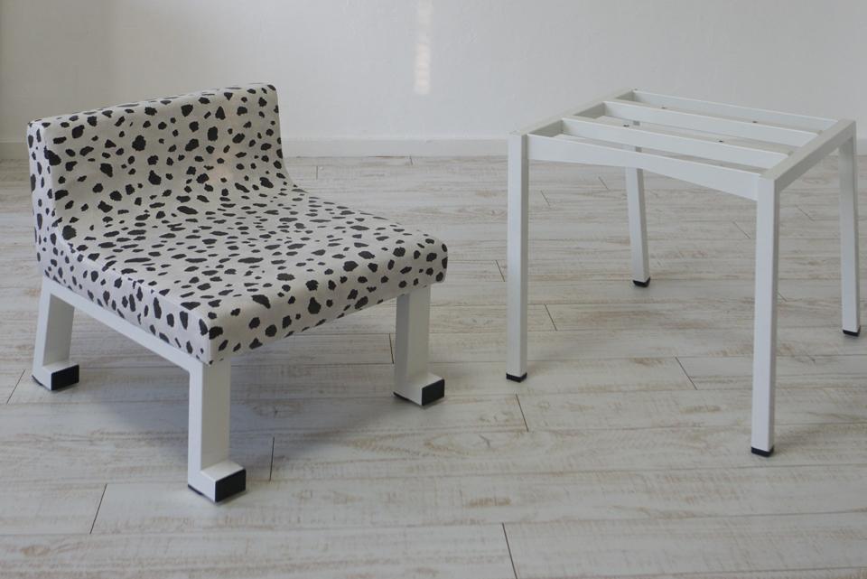 子供椅子(学習椅子)ロンフレンチェア・パピー&K9脚
