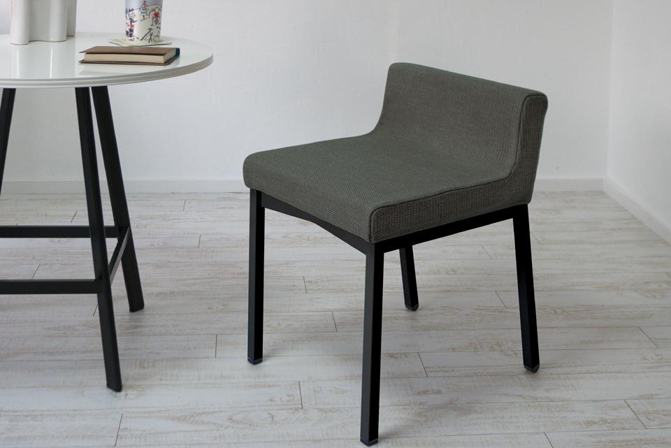 ダイニングチェア(学習椅子)ロンフレンチェア・K9/ブラック