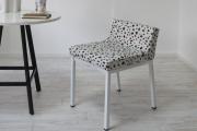ダイニングチェア(学習椅子)ロンフレンチェア・K9/ダルメシアン