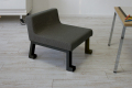 子供椅子(学習椅子)ロンフレンチェア・パピー/ブラック