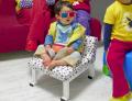 子供(学習・キッズ・ベビー)椅子ロンフレンチェア・パピー/ダルメシアン