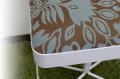 エントランススツール(玄関椅子)スインググラスEX/ミントフラワー