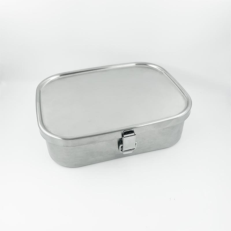 ステンレス製お弁当箱『角型ランチボックス 大』