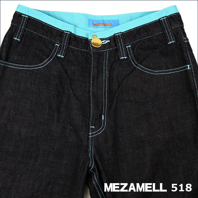 MEZAMELL(メザメル)            ジーンズ 518       【30インチ】                ~青空~空のジーンズ
