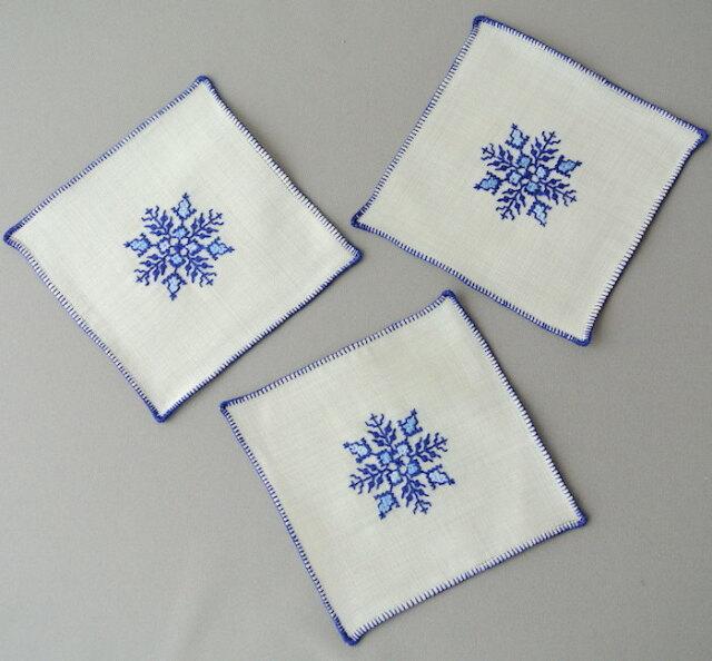 フェズ刺繍 コースター