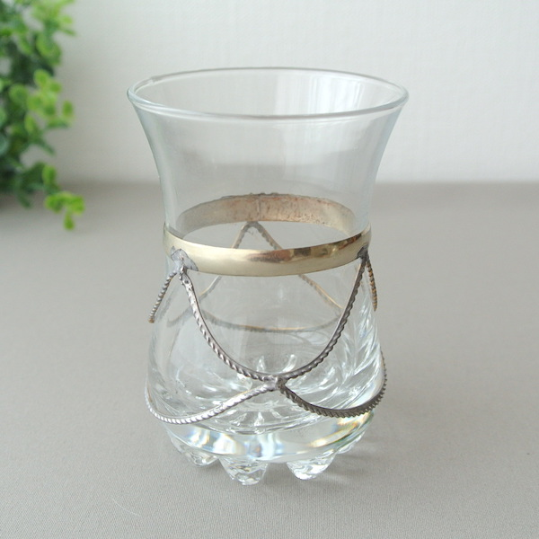 メタル装飾グラスA