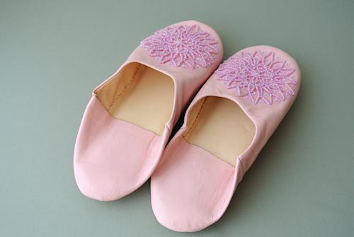 バブーシュ ピンク