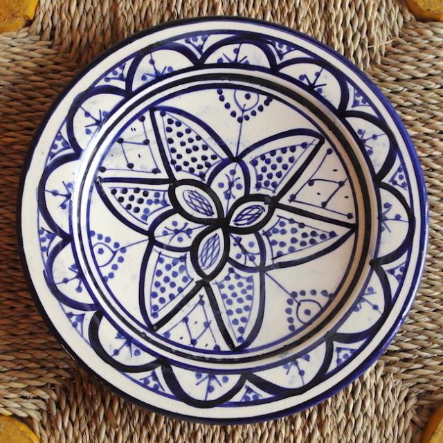 サフィ皿 白
