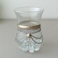 メタル装飾グラス