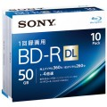 録画用BD-R50GB10枚10BNR2VJPS4