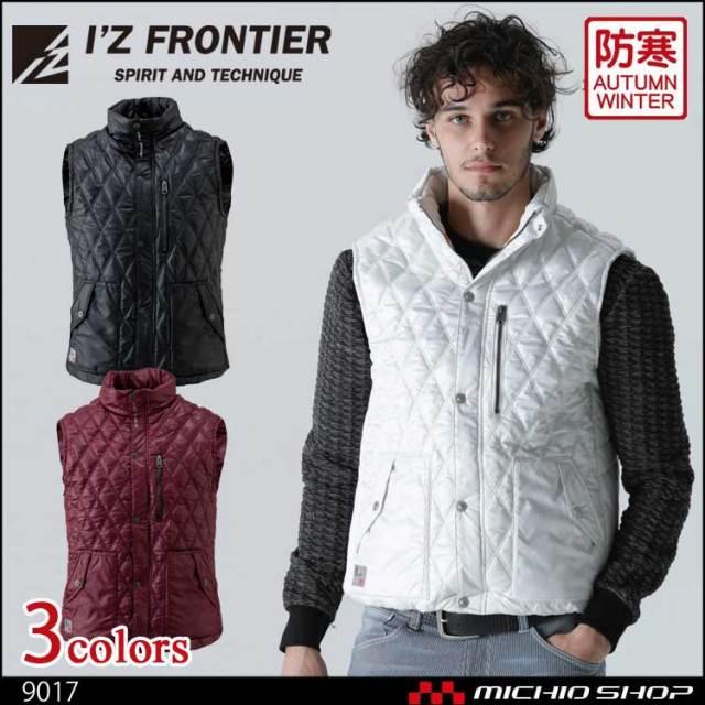 数量限定モデル 防寒服 I'Z FRONTIER 発熱防寒ベスト 9017 アイズフロンティア