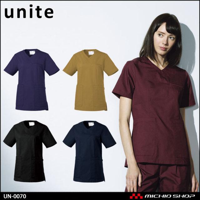 制服 医療 看護 介護 エステ クリニック unite ユナイト スクラブ UN-0070 2019年春夏新作