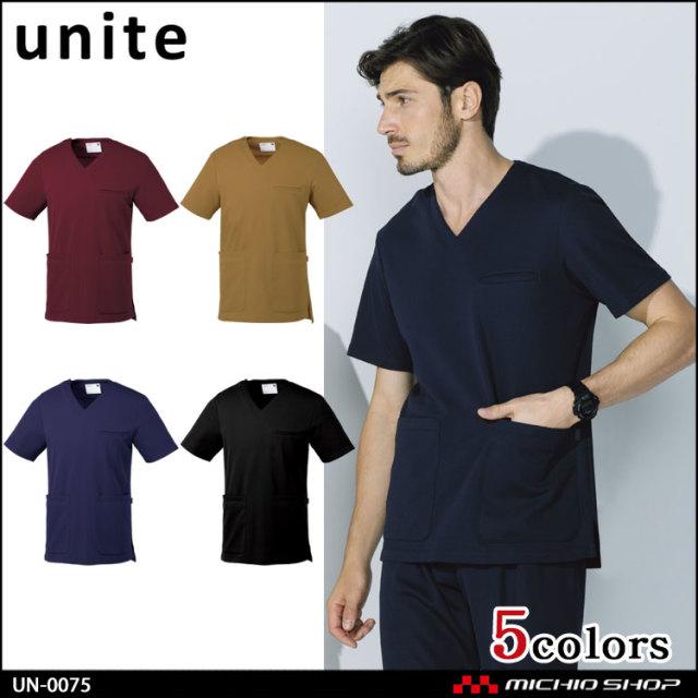 制服 医療 看護 介護 エステ クリニック unite ユナイト スクラブ UN-0075