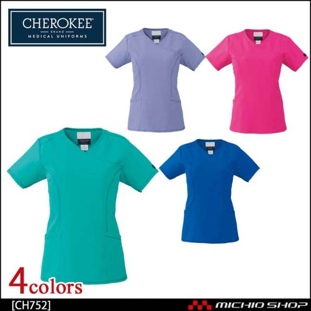 医療 介護 看護 制服 FOLK フォーク CHEROKEE チェロキー スクラブ CH752