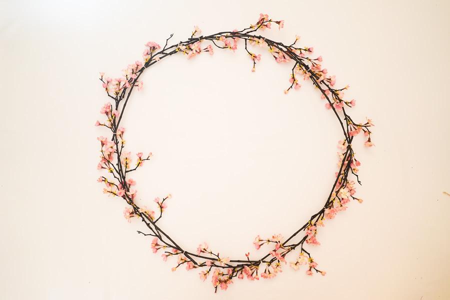 フォトリース 桜 直径70cm