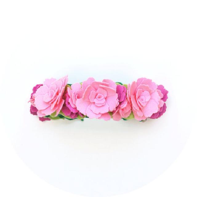 お花の髪飾り♪可愛いくておもしろい海外デザイン♪