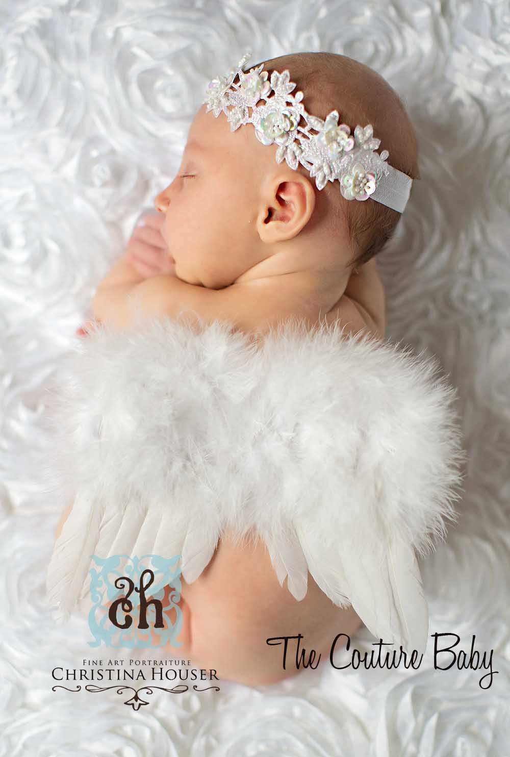 天使の羽根 ニューボーンフォト