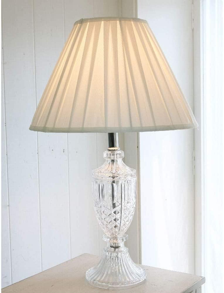 ハンプトン・ガラスランプ 撮影小物テーブルランプ