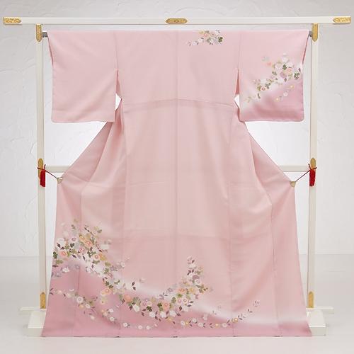 ピンク小花流し