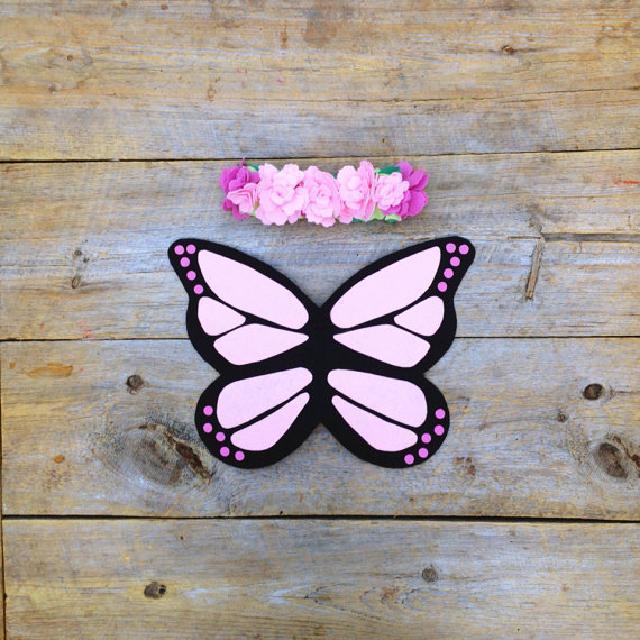 蝶々の羽♪コスチューム♪可愛いくておもしろい海外デザイン♪18months-6years