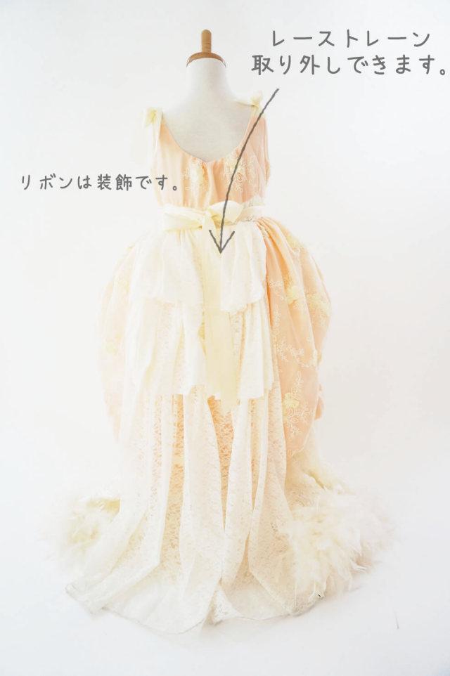 豪華なフラワーガールドレス【Eternal Fairytale】