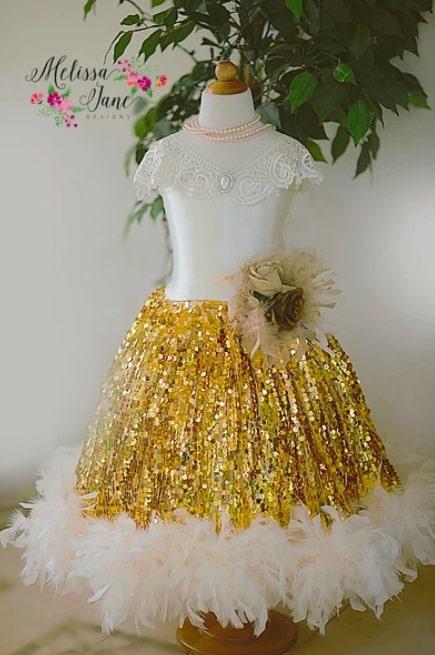 楽しいスパンコールの「Fun Sparkle Princess Girls Dressプリンセスドレス」2歳から12歳