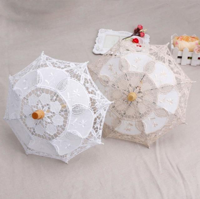 【在庫SALE】50%OFF! ニューボーンフォト用かわいいちいさな傘。ホワイト<在庫あり◎>