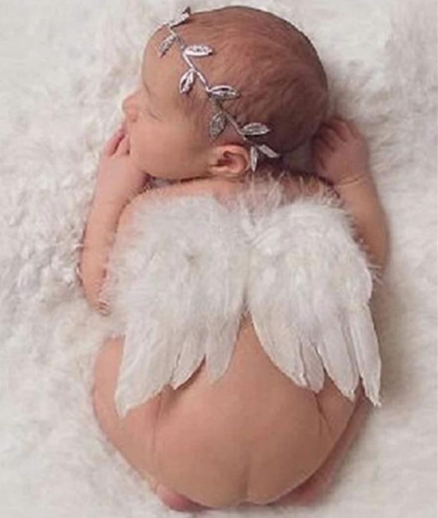 天使の羽ヘアバンドセット