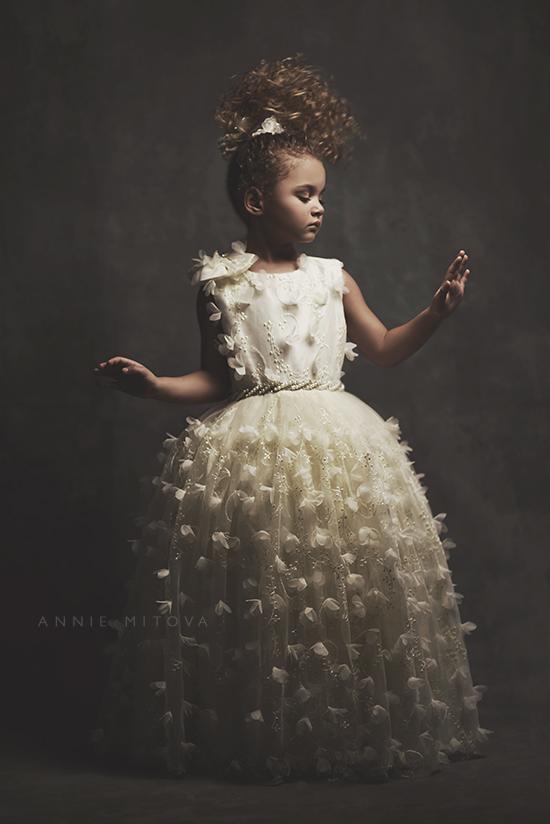 バタフライ・キス「Butterfly Kiss Flower Girl Dress」2歳から10歳