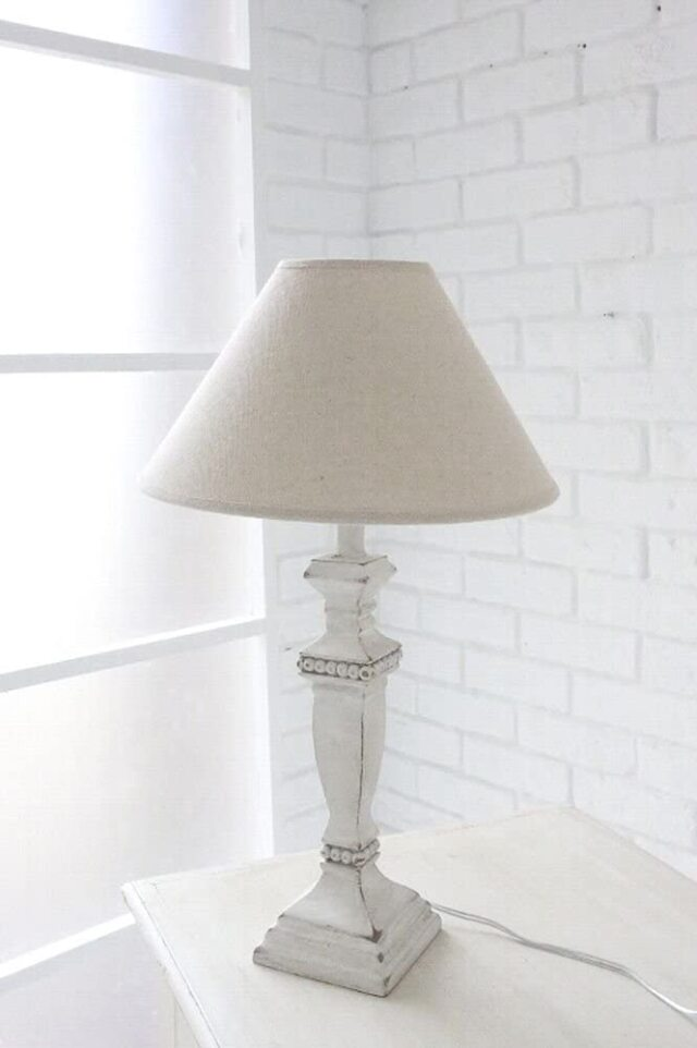 カーロウ・シェードランプ ランプ    スタンドライト 卓上ランプ  アンティーク調