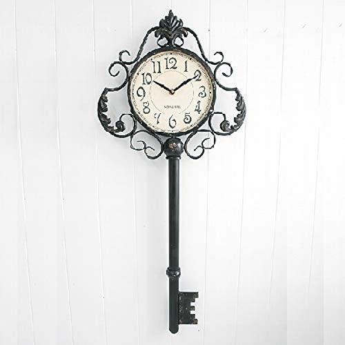 ラージキー・ウォールクロック  アンティーク  壁掛け時計  インテリア