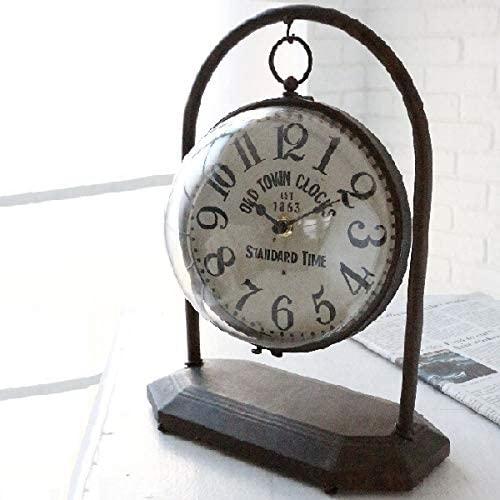 ダングルボール・クロック  アンティーク 置き時計 インテリア