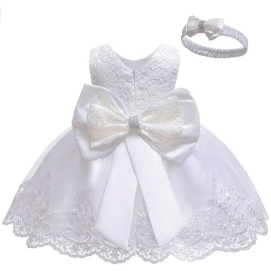 キッズドレス ピュアホワイト