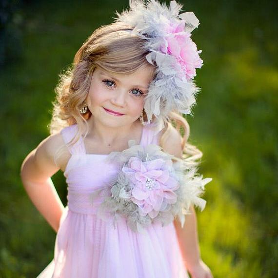 フェアリー・ダスト そよ風のドレス「Fairy Dust Breeze Girls Feather Dress」1歳から12歳